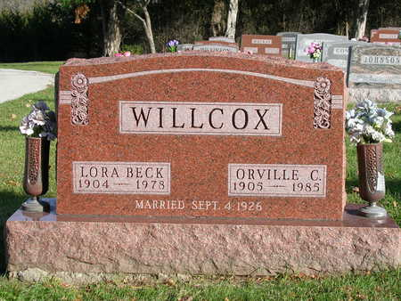 BECK WILLCOX, LORA - Madison County, Iowa | LORA BECK WILLCOX