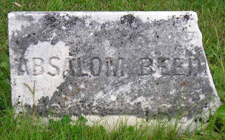 BEEDLE, ABSALOM - Madison County, Iowa | ABSALOM BEEDLE