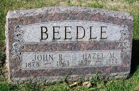 BEEDLE, HAZEL MARGARET - Madison County, Iowa | HAZEL MARGARET BEEDLE