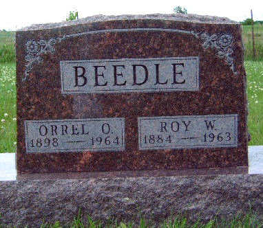 BEEDLE, ROY WALTER - Madison County, Iowa | ROY WALTER BEEDLE
