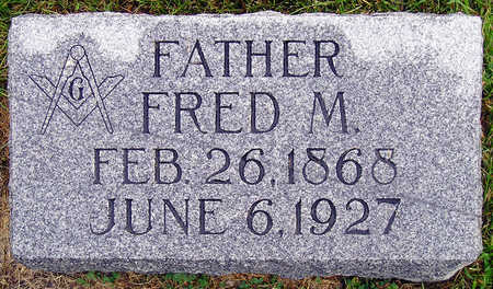 BEELER, FRED M. - Madison County, Iowa | FRED M. BEELER