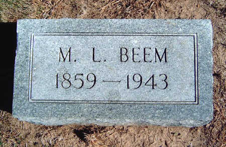 BEEM, MARION L - Madison County, Iowa | MARION L BEEM