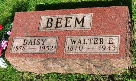WRIGHT BEEM, SARAH DAISY - Madison County, Iowa | SARAH DAISY WRIGHT BEEM