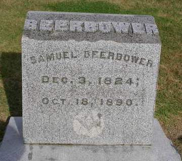 BEERBOWER, SAMUEL - Madison County, Iowa | SAMUEL BEERBOWER