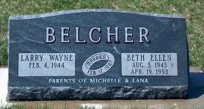 BELCHER, BETH ELLEN - Madison County, Iowa | BETH ELLEN BELCHER