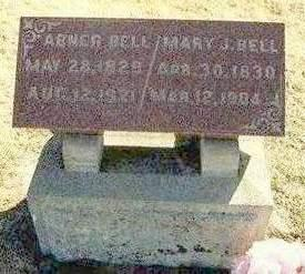 CROSSLEY BELL, MARY JANE - Madison County, Iowa | MARY JANE CROSSLEY BELL