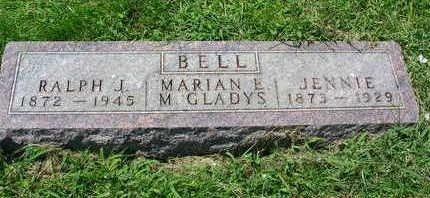 BELL, MARY JENNIE - Madison County, Iowa | MARY JENNIE BELL