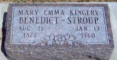 KINGERY STROUP, MARY EMMA - Madison County, Iowa | MARY EMMA KINGERY STROUP