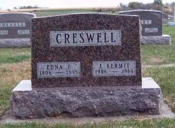 BENNETT CRESWELL, EDNA FAYE - Madison County, Iowa | EDNA FAYE BENNETT CRESWELL