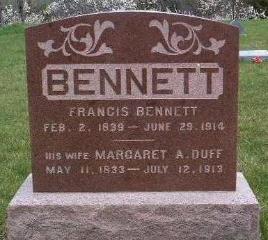 BENNETT, FRANCIS - Madison County, Iowa | FRANCIS BENNETT
