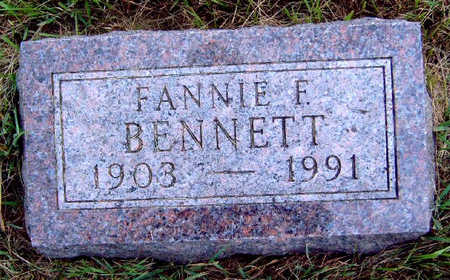 BENNETT, FANNIE FERN - Madison County, Iowa | FANNIE FERN BENNETT