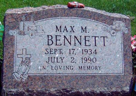 BENNETT, MAX MARTIN - Madison County, Iowa | MAX MARTIN BENNETT