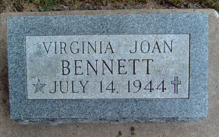 BENNETT, VIRGINIA JOAN - Madison County, Iowa | VIRGINIA JOAN BENNETT