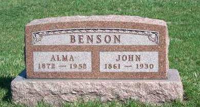BENSON, JOHN - Madison County, Iowa | JOHN BENSON