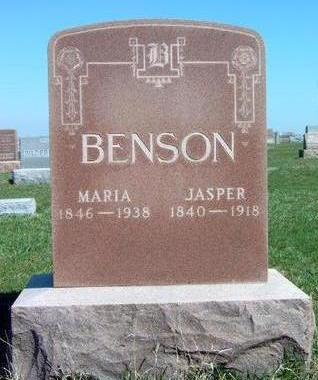 BENSON, JASPER M. (DOC) - Madison County, Iowa | JASPER M. (DOC) BENSON
