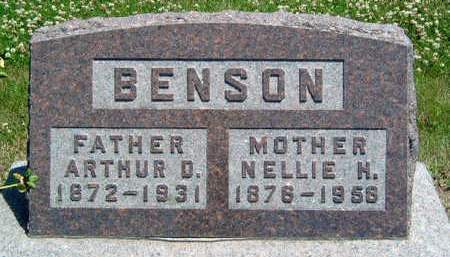 BENSON, SARAH NELLIE - Madison County, Iowa | SARAH NELLIE BENSON