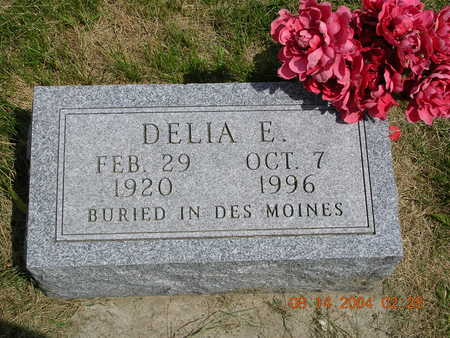 BERCH, DELIA E. - Madison County, Iowa | DELIA E. BERCH