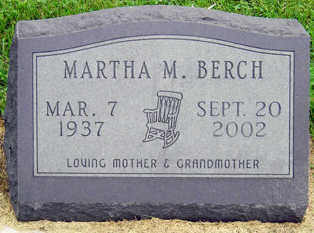 BERCH, MARTHA MAE - Madison County, Iowa | MARTHA MAE BERCH