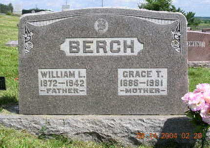 BERCH, GRACE TEGGIE - Madison County, Iowa | GRACE TEGGIE BERCH