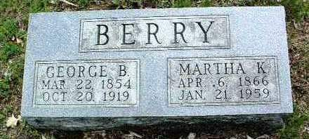 BERRY, GEORGE BENJAMIN - Madison County, Iowa | GEORGE BENJAMIN BERRY