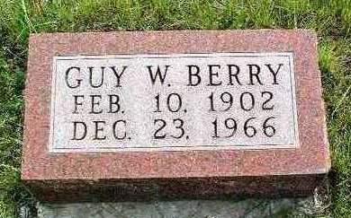 BERRY, GUY WILLIAM - Madison County, Iowa | GUY WILLIAM BERRY