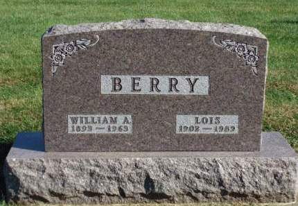 BERRY, WILLIAM ARLES - Madison County, Iowa | WILLIAM ARLES BERRY