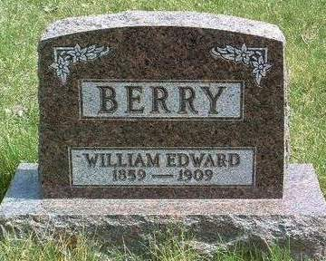 BERRY, WILLIAM EDWARD (ED) - Madison County, Iowa | WILLIAM EDWARD (ED) BERRY
