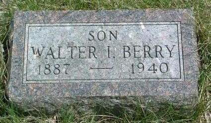 BERRY, WALTER I. - Madison County, Iowa | WALTER I. BERRY