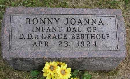 BERTHOLF, BONNY JOANNA - Madison County, Iowa | BONNY JOANNA BERTHOLF