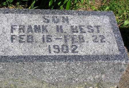 BEST, FRANK H. - Madison County, Iowa   FRANK H. BEST