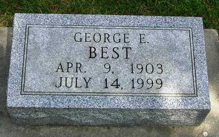 BEST, GEORGE EDWARD - Madison County, Iowa | GEORGE EDWARD BEST