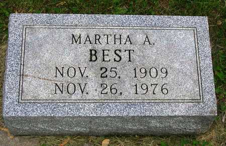 BEST, MARTHA AUGUSTA - Madison County, Iowa | MARTHA AUGUSTA BEST
