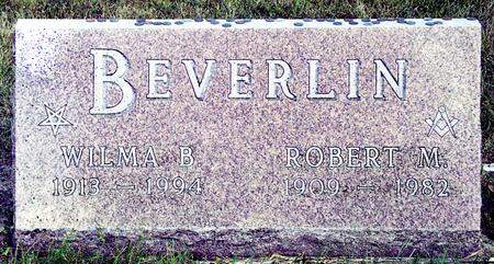 BEVERLIN, ROBERT MONTELL - Madison County, Iowa | ROBERT MONTELL BEVERLIN