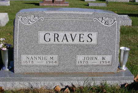 BIGGS GRAVES, NANCY MABEL (NANNIE) - Madison County, Iowa | NANCY MABEL (NANNIE) BIGGS GRAVES