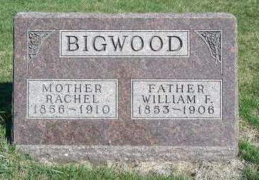 BIGWOOD, WILLIAM F. - Madison County, Iowa | WILLIAM F. BIGWOOD