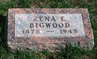 BIGWOOD, ZENA E. - Madison County, Iowa | ZENA E. BIGWOOD