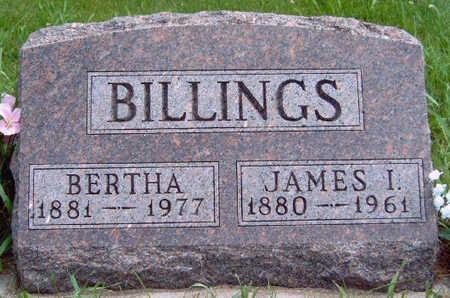 GOWIN BILLINGS, BERTHA ELNORA - Madison County, Iowa | BERTHA ELNORA GOWIN BILLINGS