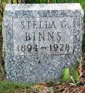 BINNS, STELLA G. - Madison County, Iowa | STELLA G. BINNS