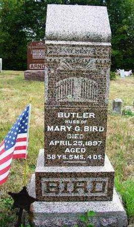 BIRD, BUTLER (REV.) - Madison County, Iowa | BUTLER (REV.) BIRD