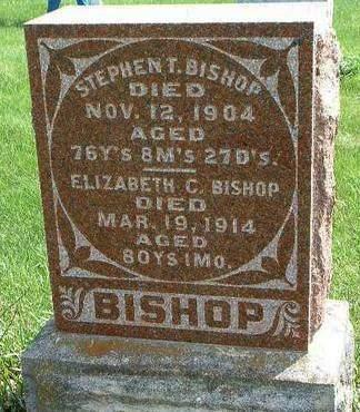 BISHOP, ELIZABETH CATHERINE - Madison County, Iowa | ELIZABETH CATHERINE BISHOP