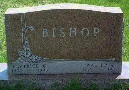 BISHOP, WALTER WHEWELL - Madison County, Iowa | WALTER WHEWELL BISHOP