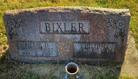 BIXLER, BILLIE D. - Madison County, Iowa | BILLIE D. BIXLER
