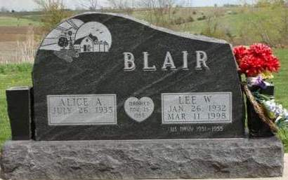 BLAIR, ALICE ANN - Madison County, Iowa | ALICE ANN BLAIR