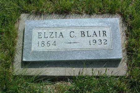 BLAIR, ELZIA C. - Madison County, Iowa | ELZIA C. BLAIR
