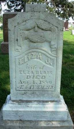 BLAIR, ELIZA JANE - Madison County, Iowa | ELIZA JANE BLAIR