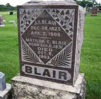BLAIR, JOHN THOMAS - Madison County, Iowa | JOHN THOMAS BLAIR