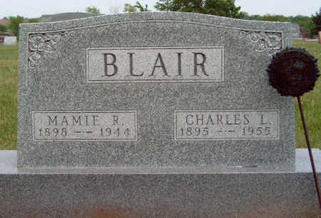 BLAIR, CHARLES LEON - Madison County, Iowa | CHARLES LEON BLAIR