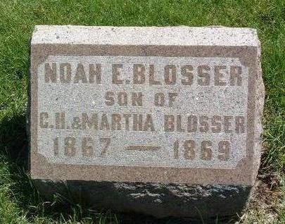 BLOSSER, NOAH ELMER - Madison County, Iowa | NOAH ELMER BLOSSER