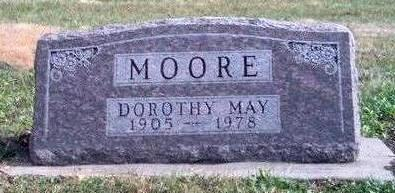 BOATWRIGHT MOORE, DOROTHY MAY - Madison County, Iowa | DOROTHY MAY BOATWRIGHT MOORE