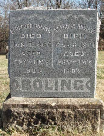 BOLING, BLUFFORD - Madison County, Iowa | BLUFFORD BOLING